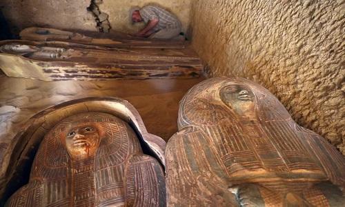 Ai Cập phát hiện ngôi mộ 4.500 năm gần Đại kim tự tháp Giza