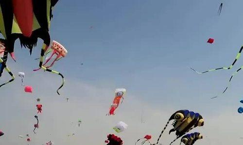 Những con diều độc đáo lấp kín bầu trời ở Trung Quốc