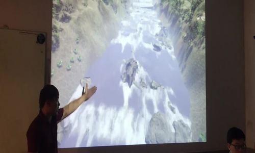 Học sinh tạo game 3D 'Người lái đò sông Đà' để học Văn