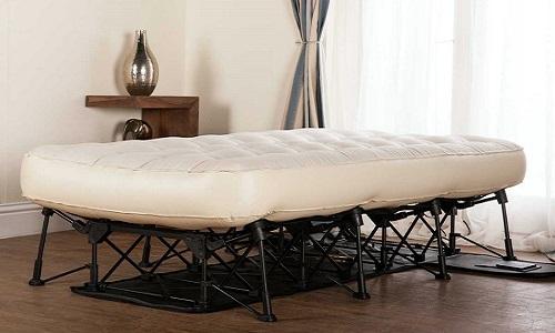 Giường gấp dạng valy tự phồng trong hai phút