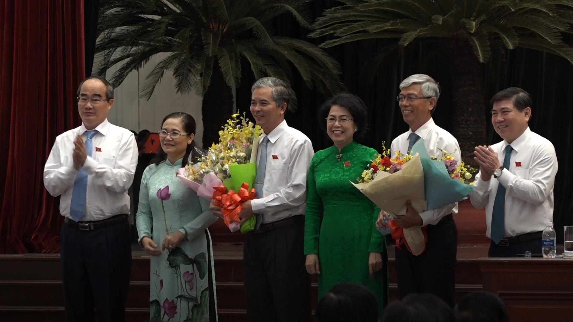 TP HCM bầu ra hai phó chủ tịch UBND thành phố