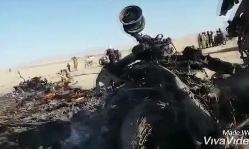 Trực thăng Mỹ đâm xuống đất, vỡ tan tành tại Afghanistan
