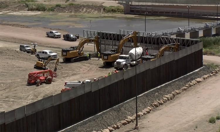 Cựu binh Mỹ quyên tiền xây tường ngăn biên giới