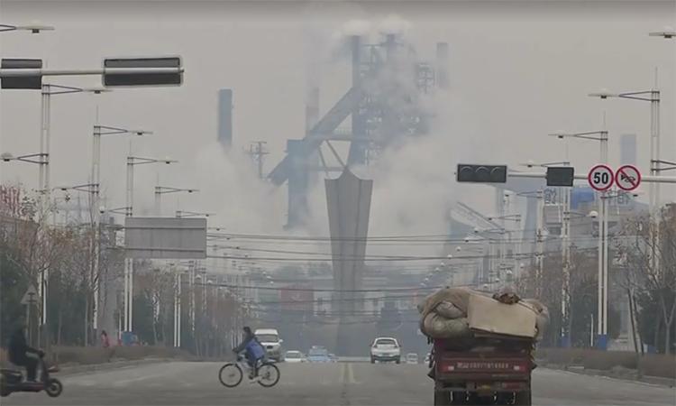 Chiến dịch chống ô nhiễm tại 'thành phố luyện thép' của Trung Quốc