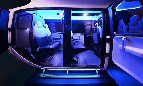 Thiết kế cabin của mẫu taxi bay Uber sắp thử nghiệm năm sau