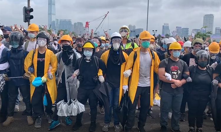 Cuộc biểu tình thứ hai chống luật dẫn độ tại Hong Kong