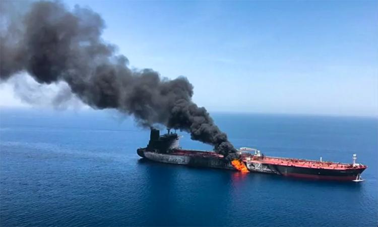 Vụ tấn công tàu chở dầu mà Iran bị cáo buộc chủ mưu