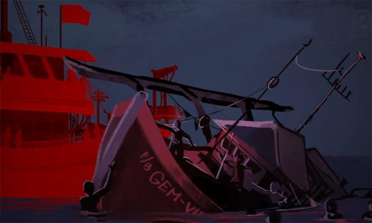 Vụ tàu Trung Quốc đâm chìm tàu cá Philippines trên Biển Đông