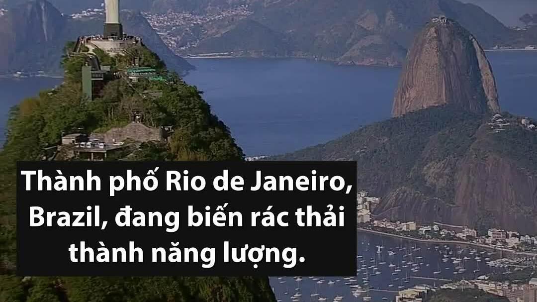 Nhà máy tiếp nhận 10.000 tấn rác thải mỗi ngày ở Brazil