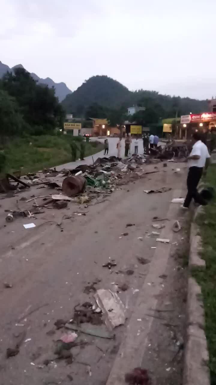 Video hiện trường vụ tai nạn
