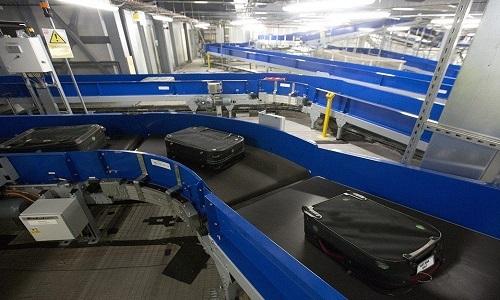 Hệ thống phân loại hành lý tự động trong sân bay Anh