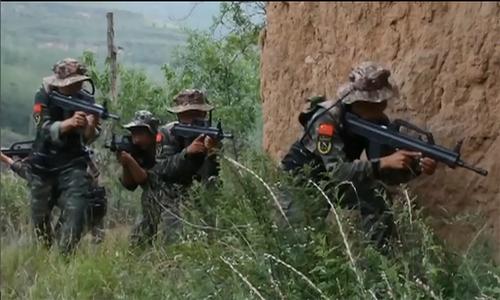 Khóa huấn luyện chống khủng bố của đặc nhiệm Trung Quốc