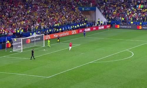 Colombia 0-0 Chile (pen 4-5)