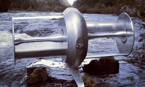 Turbine sông sản xuất điện nhiều gấp 12 lần pin mặt trời