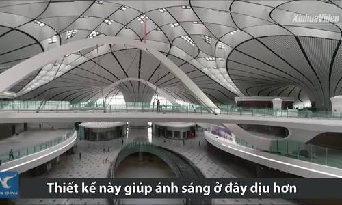 Thiết kế giúp sân bay lớn nhất thế giới tiết kiệm 70% đèn