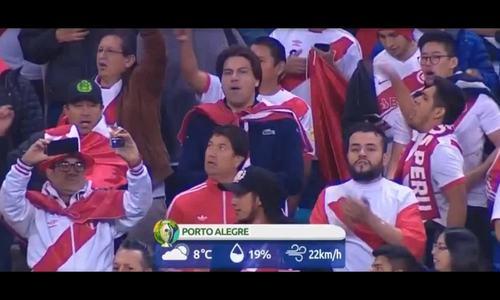 Chile 0-3 Peru