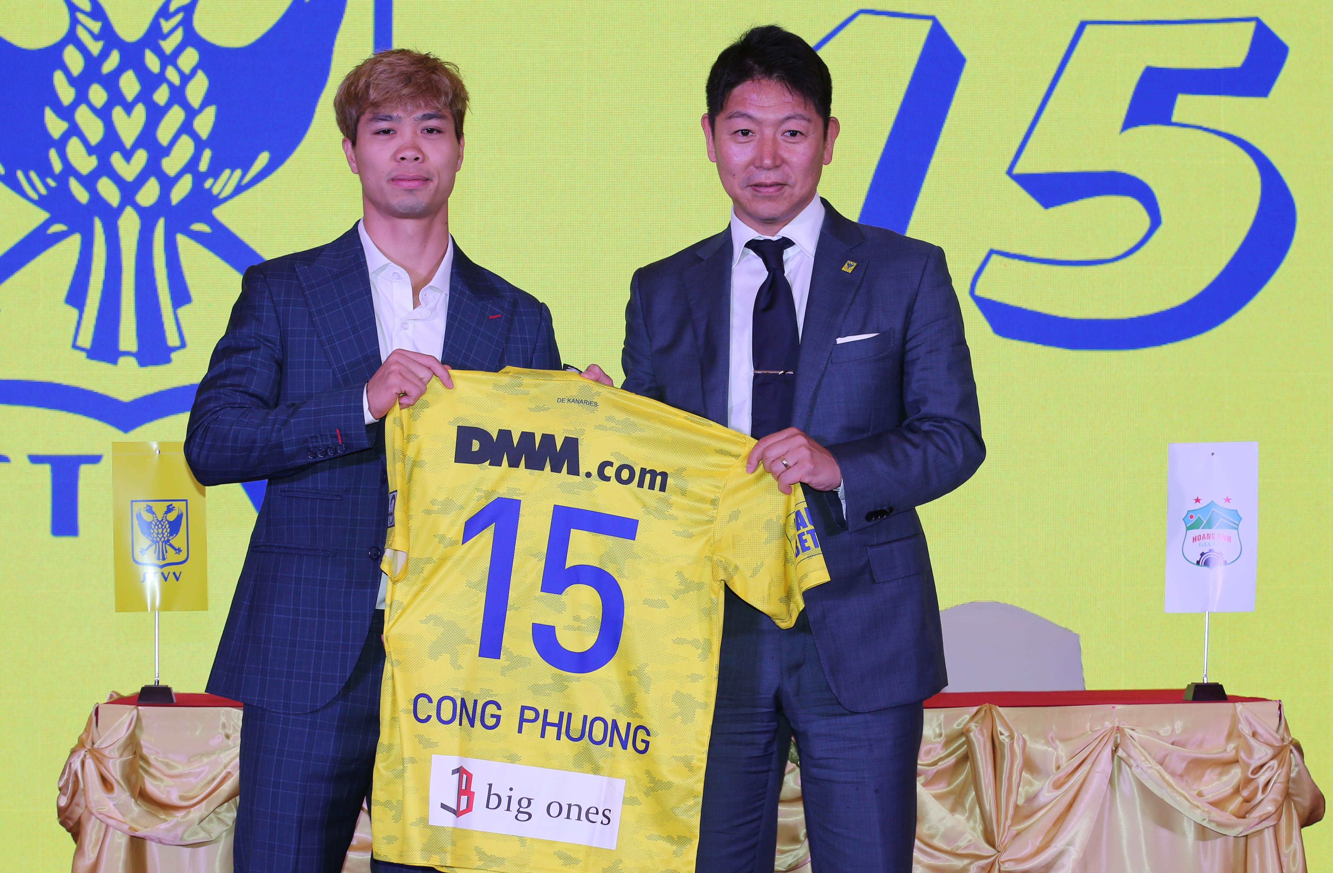 Công Phượng ký hợp đồng một năm với câu lạc bộ của Bỉ