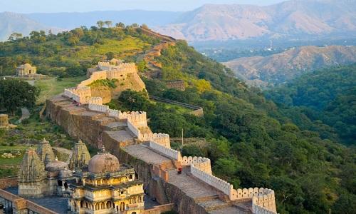 Pháo đài được ví như 'Vạn lý Trường thành' của Ấn Độ