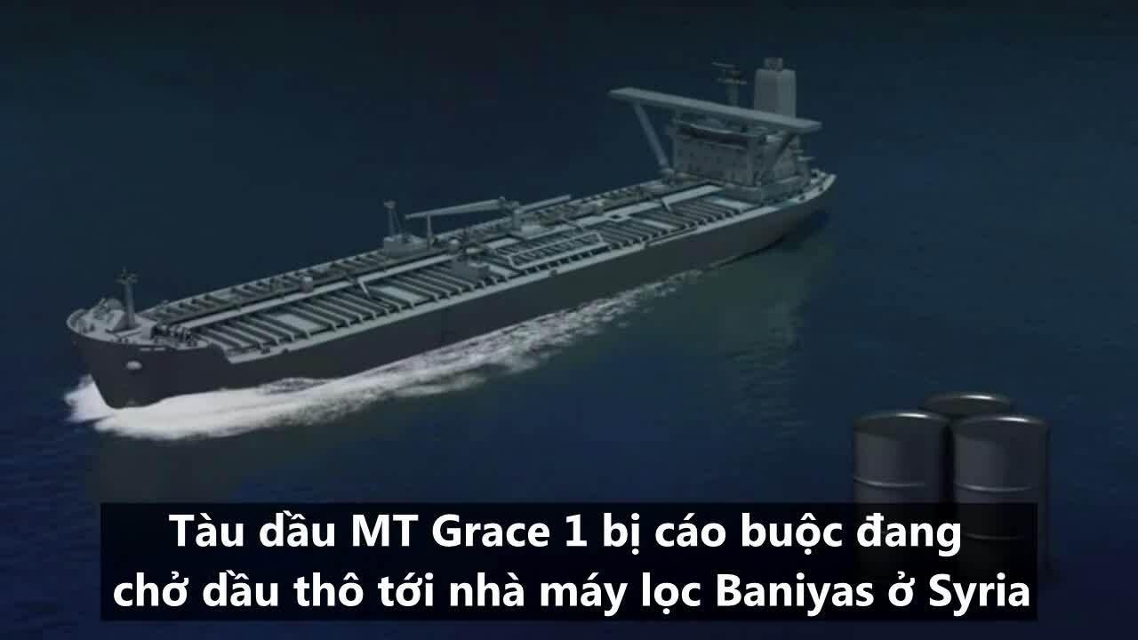 Vụ bắt 'siêu tàu dầu' gây căng thẳng giữa Anh và Iran