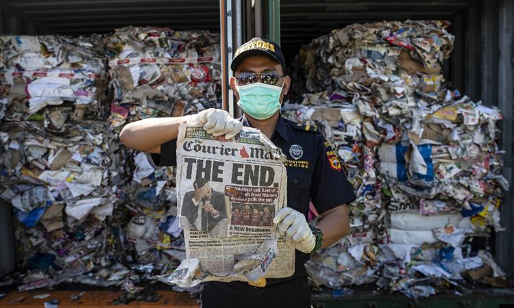 210 tấn rác độc hại Indonesia chuẩn bị trả cho Australia