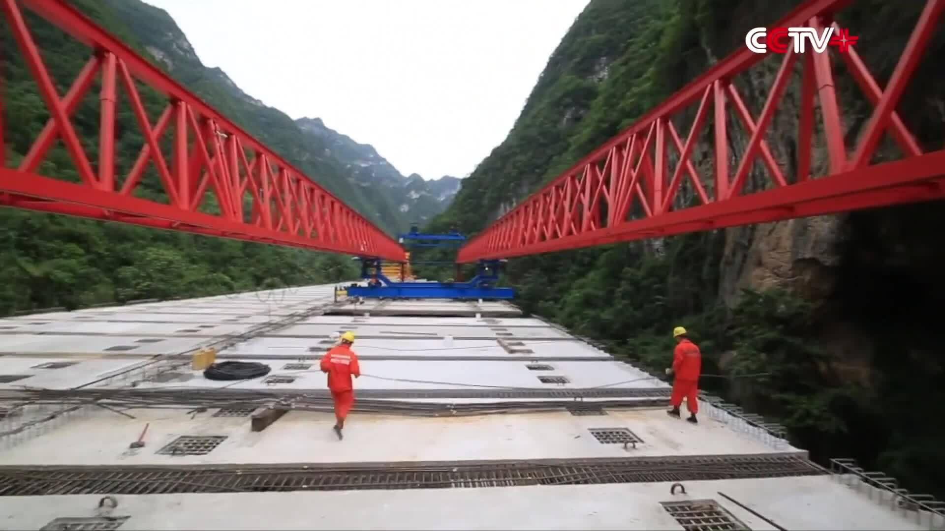 Dự án cầu liên hợp thép - bê tông dài nhất Trung Quốc