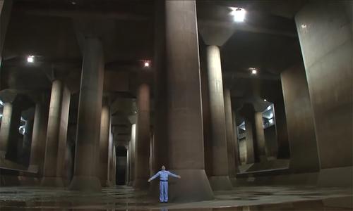 Hầm ngầm giảm 90% thiệt hại do lũ lụt cho thủ đô Nhật Bản