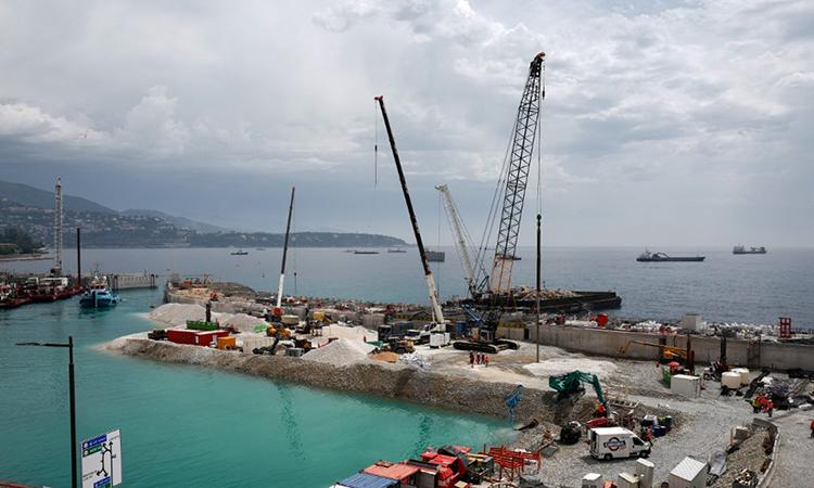 Dự án lấn biển xây nhà ở gây tranh cãi ở Monaco