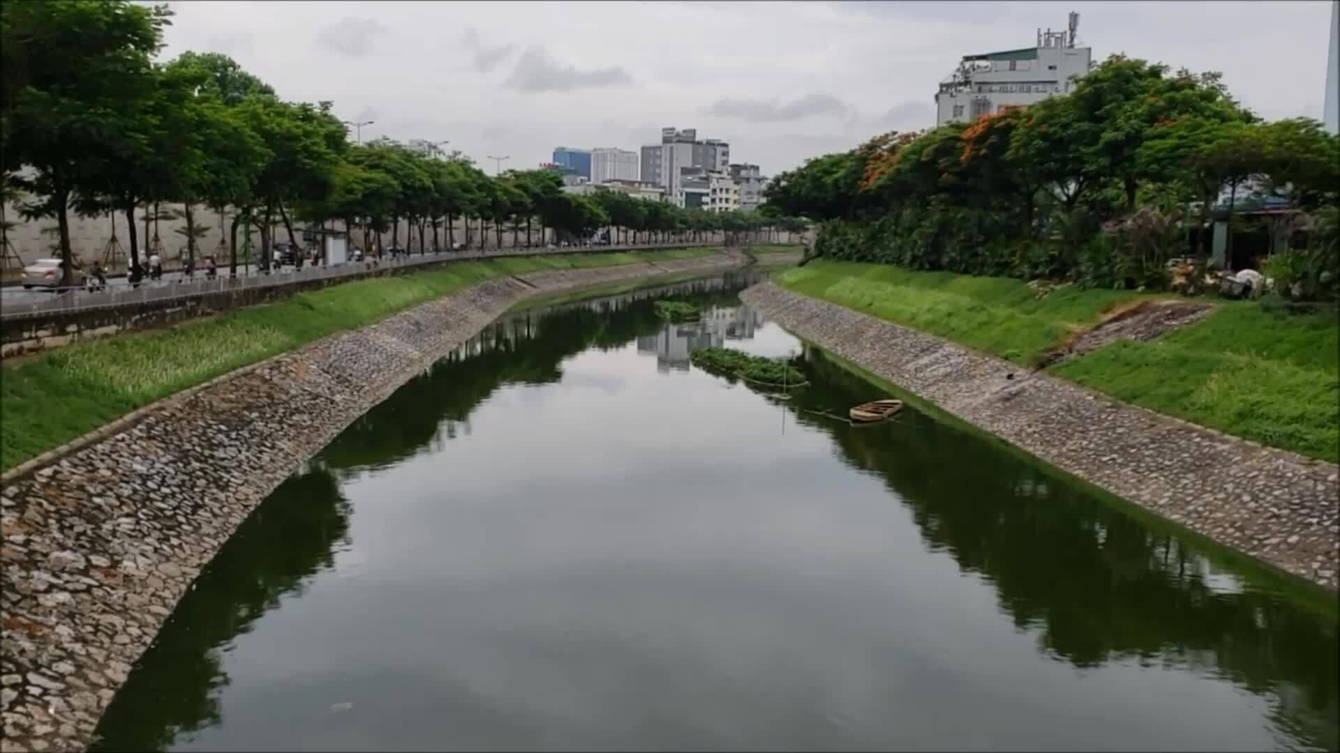 Công ty thoát nước Hà Nội: 'Công nghệ Nhật xử lý ô nhiễm sông Tô Lịch vào mùa mưa không hợp lý'