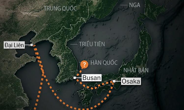 Hành trình chuyển xe bọc thép của Kim Jong-un về Triều Tiên