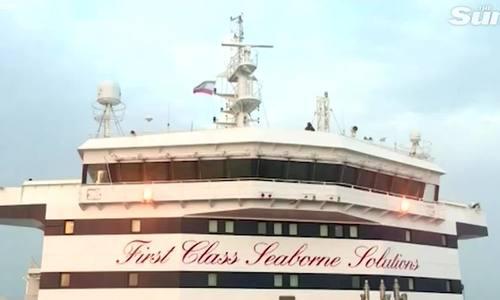 Iran treo quốc kỳ trên tàu chở dầu Anh bị bắt