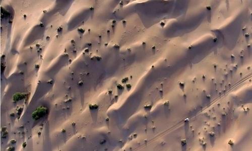 Lũ cát - thảm họa rình rập người đi trên sa mạc