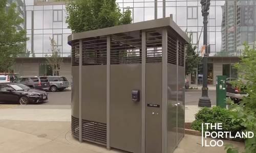 Thiết kế toilet công cộng giúp chống tệ nạn ở Mỹ