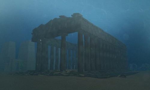 Đền thờ 1.200 năm ở thành phố cổ dưới đáy biển Ai Cập