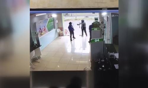 Nhận dạng tên cướp nổ súng trong ngân hàng ở Thanh Hoá
