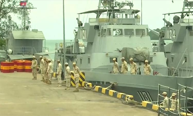 Bên trong căn cứ hải quân Campuchia bị nghi cho Trung Quốc thuê