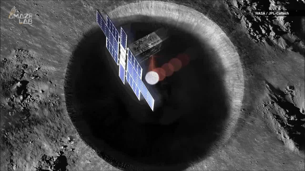 Tàu vũ trụ đầu tiên dùng laser tìm kiếm băng trên Mặt Trăng