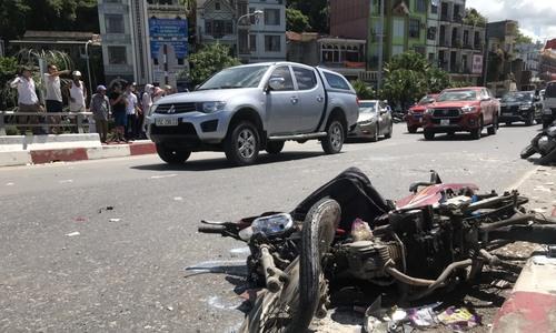 Video tai nạn Quảng Ninh
