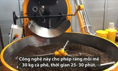 Chuyển giao công nghệ rang xay cà phê bằng củi đốt vào Việt Nam