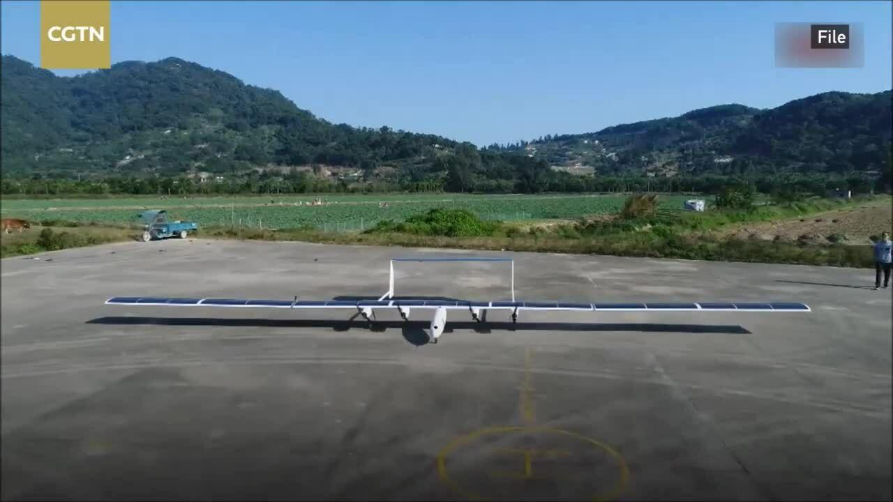Máy bay năng lượng mặt trời của Trung Quốc lần đầu cất cánh