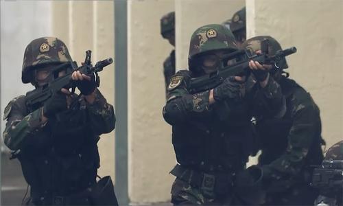 Quân đội Trung Quốc tung video cảnh báo người biểu tình Hong Kong