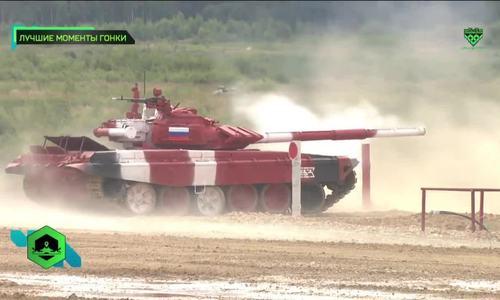 T-72B3 - chiến xa được tin dùng tại giải đua xe tăng của Nga