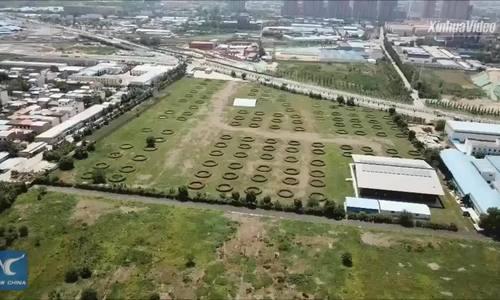 Kho ngũ cốc được xây dựng hơn 1.000 năm trước ở Trung Quốc
