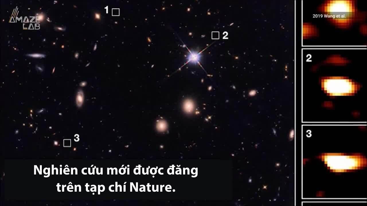 Phát hiện 39 thiên hà hơn 11 tỷ năm tuổi