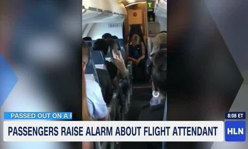 Nữ tiếp viên Mỹ say xỉn, ngủ gục suốt chuyến bay