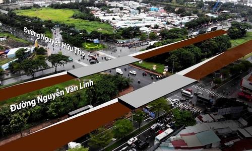 Dự án hầm chui hơn 800 tỷ đồng ở khu Nam Sài Gòn