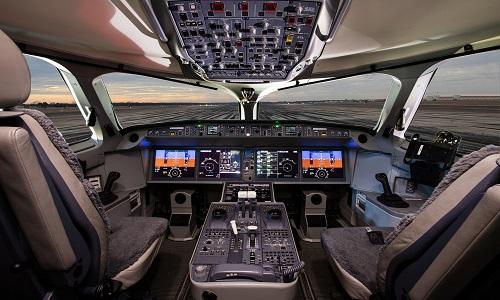 Thiết kế buồng lái hiện đại của máy bay Airbus A220