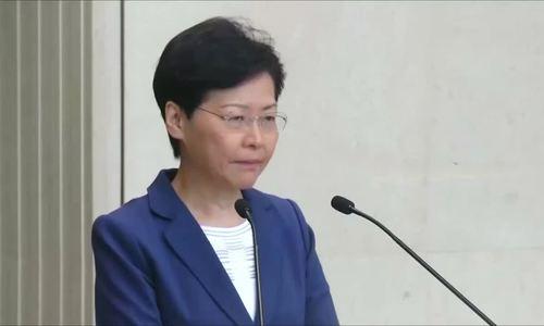 Lãnh đạo Hong Kong suýt khóc, cảnh báo 'vực thẳm' do biểu tình