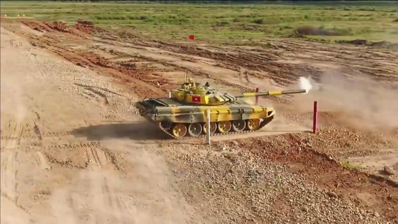 Hành trình đội Việt Nam vào chung kết giải đua xe tăng tại Nga