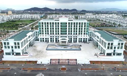 Trung tâm hành chính hơn 650 tỷ đồng sắp đưa vào sử dụng ở Thanh Hoá