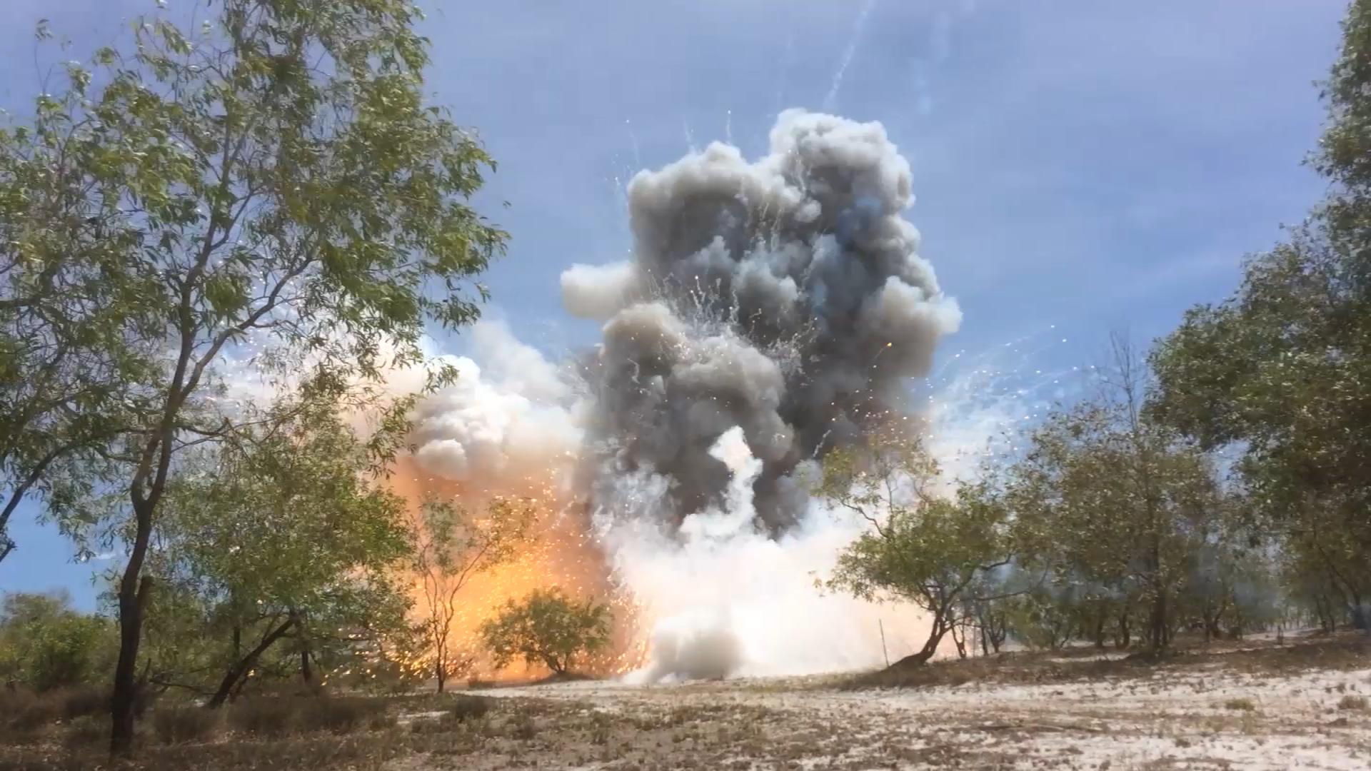 Huỷ nổ hơn 1.400 đạn chiến tranh ở Quảng Trị